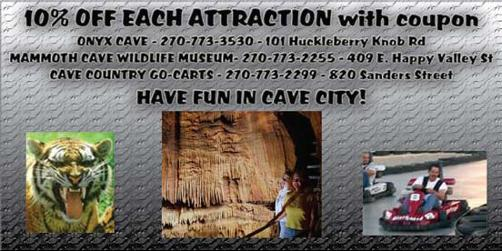 Mammoth cave discount coupons